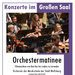 Plakat Orchestermatinee 2019