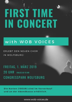 WOB Voices First Time in Concert -